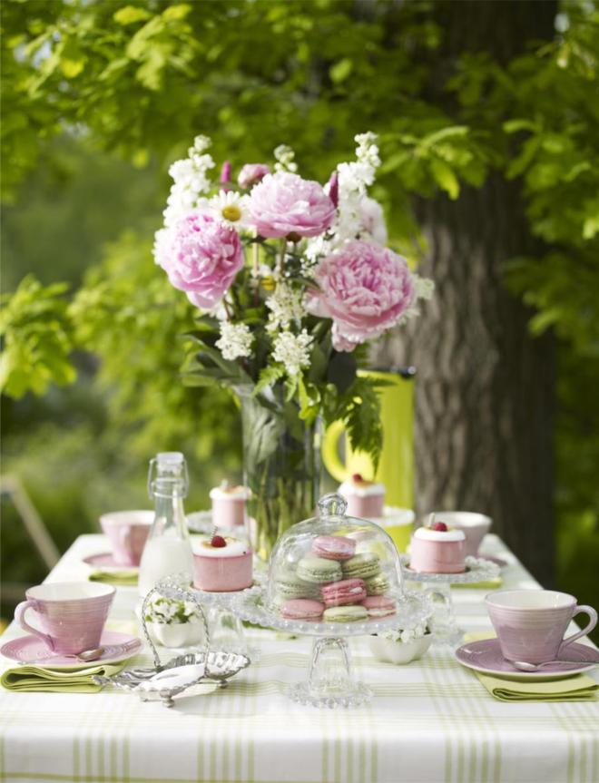 Mesa Posta: Chá da Tarde