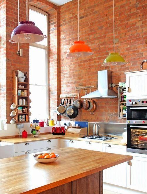 Cozinha dos Sonhos: Tijolos