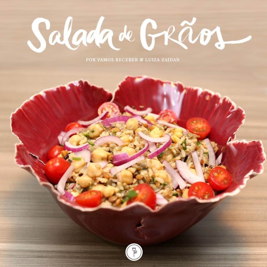 salada de graos pratp